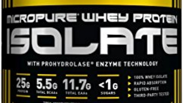 KAGED MUSCLE – MicroPure Whey Protein Isolate, Chocolate, 3lbs