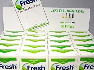 FRESH Cigarette Filters – 20 Packs = 600 Filters. Take the NIC OUT!