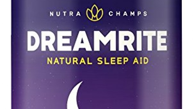DREAMRITE Natural Sleep Aid – Non-Habit Forming Vegan Sleeping Pills – Herbal Complex with Valerian, Chamomile, Magnesium, Hops Extract, Melatonin – 60 Vegetarian Capsules – Relax & Calm Supplement