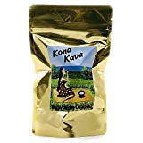 Kona Kava Farm Premium Instant Kava Mix 9% Kavalactone | Kava Root Extract Supplement Drink Mix For Stress and Anxiety Relief | Available in Chocolate and Banana Vanilla (Banana Vanilla, 4 oz)