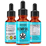 Full Spectrum Hemp Oil Drops - 450mg | Natural Relief for Chronic Pain, Anxiety, Reduces Stress, Anti-Inflammatory Extract, Organic Sleep Aid, No THC, W/Omega 3, 6 & 9 Oils - Made in USA | Mint Flavor