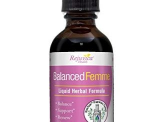 Balanced Femme – Herbal PMS and Menopause Support | All-Natural Liquid for 2X Absorption | Vitex, Dong Quai, Maca Root & More!
