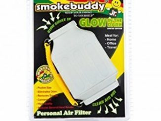 Smoke Buddy Junior Glow in the Dark White – Personal Air Purifiery and Odor Diffuser