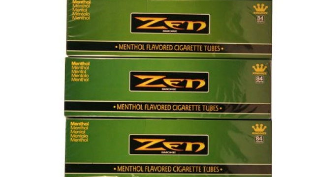 Zen Menthol King Cigarette Tubes 200ct Carton 5 Pack Reviews