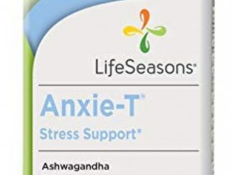 Life Seasons – Anxie-T – Anti Anxiety Support Supplements That Combat Stress – Calm and Stress Supplement – Feel More Relaxed – Contains Kava Kava, GABA, L-Theanine – Regular Size (60 Capsules)