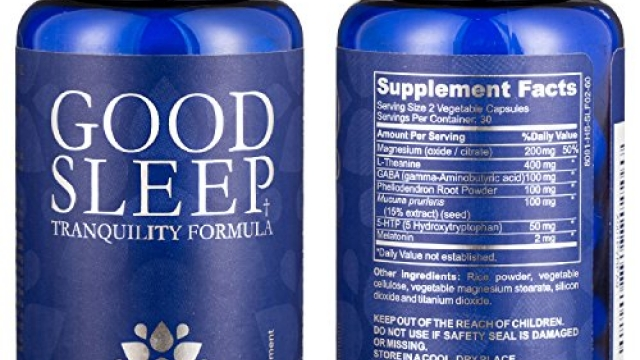 Natural Sleep Aid with Magnesium, Melatonin, L-Theanine and GABA with an Advanced Blend of Chinese Root Powders for a Deeper More Fulfilling Sleep 60 Caps (1 Bottle)