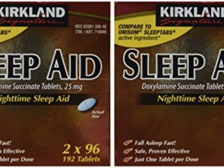 Kirkland Signature Sleep Aid Doxylamine Succinate 25 Mg, 384-Count