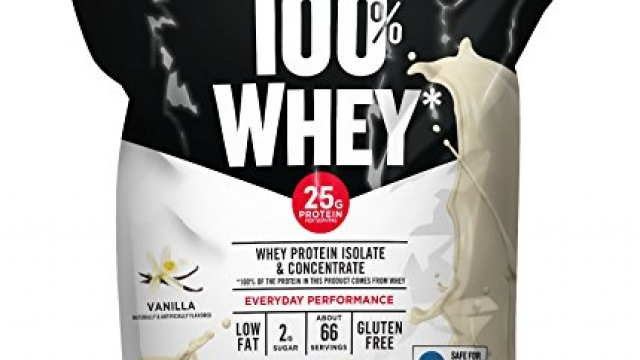 Muscle Milk 100% Whey Protein Powder, Vanilla, 25g Protein, 5 Pound