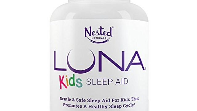 LUNA Kids | #1 Sleep Aid Tablets for Children 4+ and Sensitive Adults | Naturally Sourced Ingredients | 60 x Chewable Pills | Gentle, Herbal Supplement with Chamomile, Melatonin, Valerian & Lemon Balm