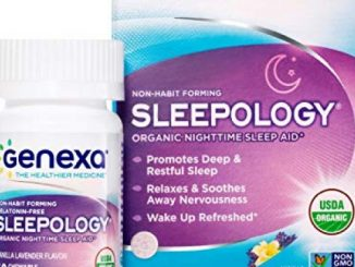 Genexa Sleepology – 60 Tablets | Certified Organic & Non-GMO, Physician Formulated, Homeopathic | Sleep Aid