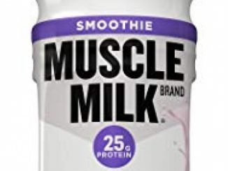 Muscle Milk Smoothie Protein Yogurt Shake, Strawberry Banana, 25g Protein, 15.8 FL OZ, 12 Count Reviews