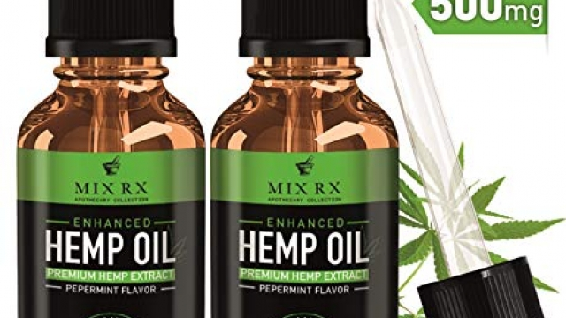 (2 Pack | 60mL) Hemp Oil for Pain Relief Anxiety Sleep Mood Stress Support – 500mg – Best Pure Natural Organic Vitamins Fatty Acids Hemp Seed Extract Tincture Drops, Zero THC